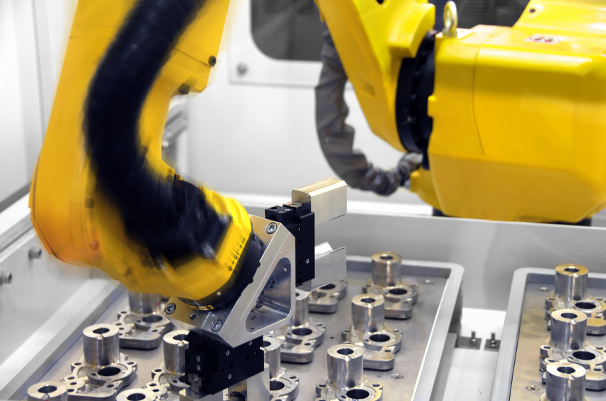Intelligent Robotic arm at work